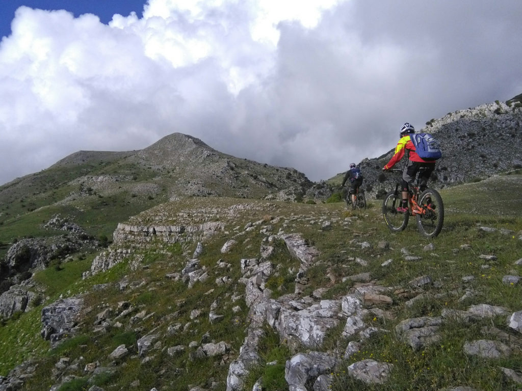 In mountain bike a Monte Cervi – giugno 2019