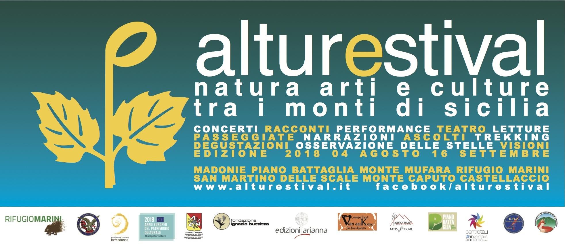 AlturEstival 2018: natura, arti e cultura tra i Monti di Sicilia