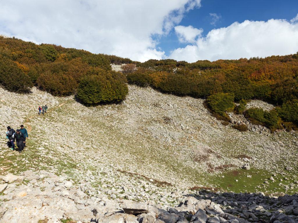 Da Piano Sempria a Pizzo Carbonara – domenica 25 ottobre
