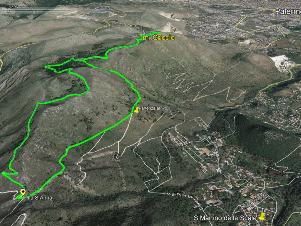 Monte Cuccio – domenica 20 gennaio