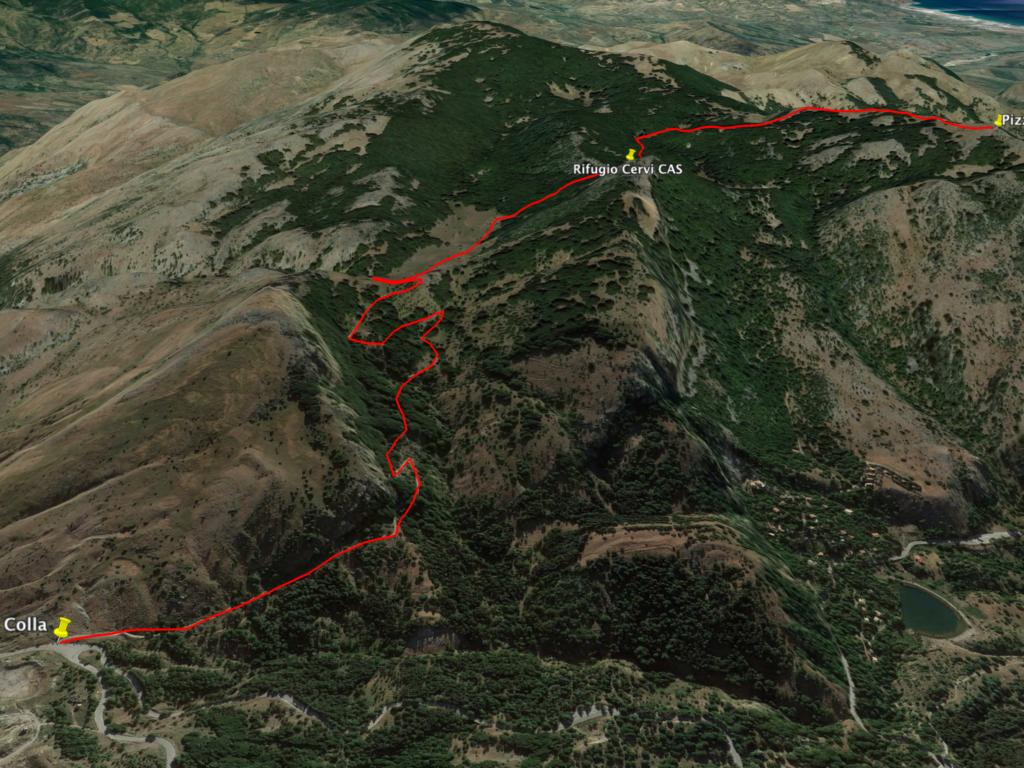 Pizzo Antenna Piccola – domenica 27 ottobre: il trek dell'aquila reale