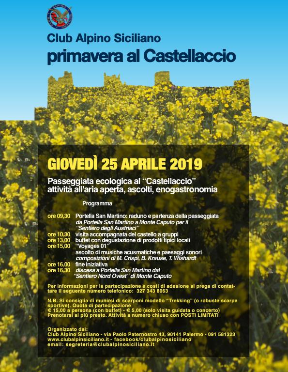 Primavera al Castellaccio 2019