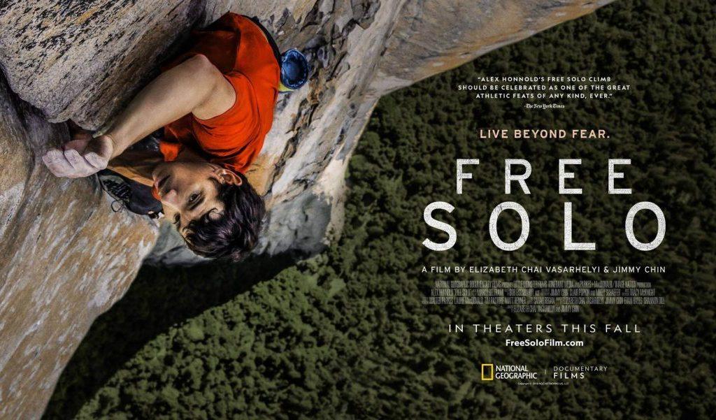 FREE SOLO – documentario premio Oscar